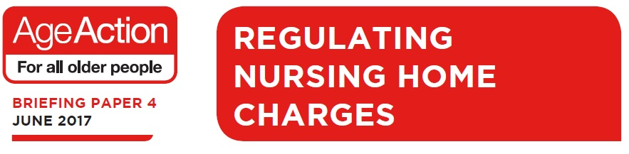 Briefing Paper 4 - Regulating Nursing Home Charges