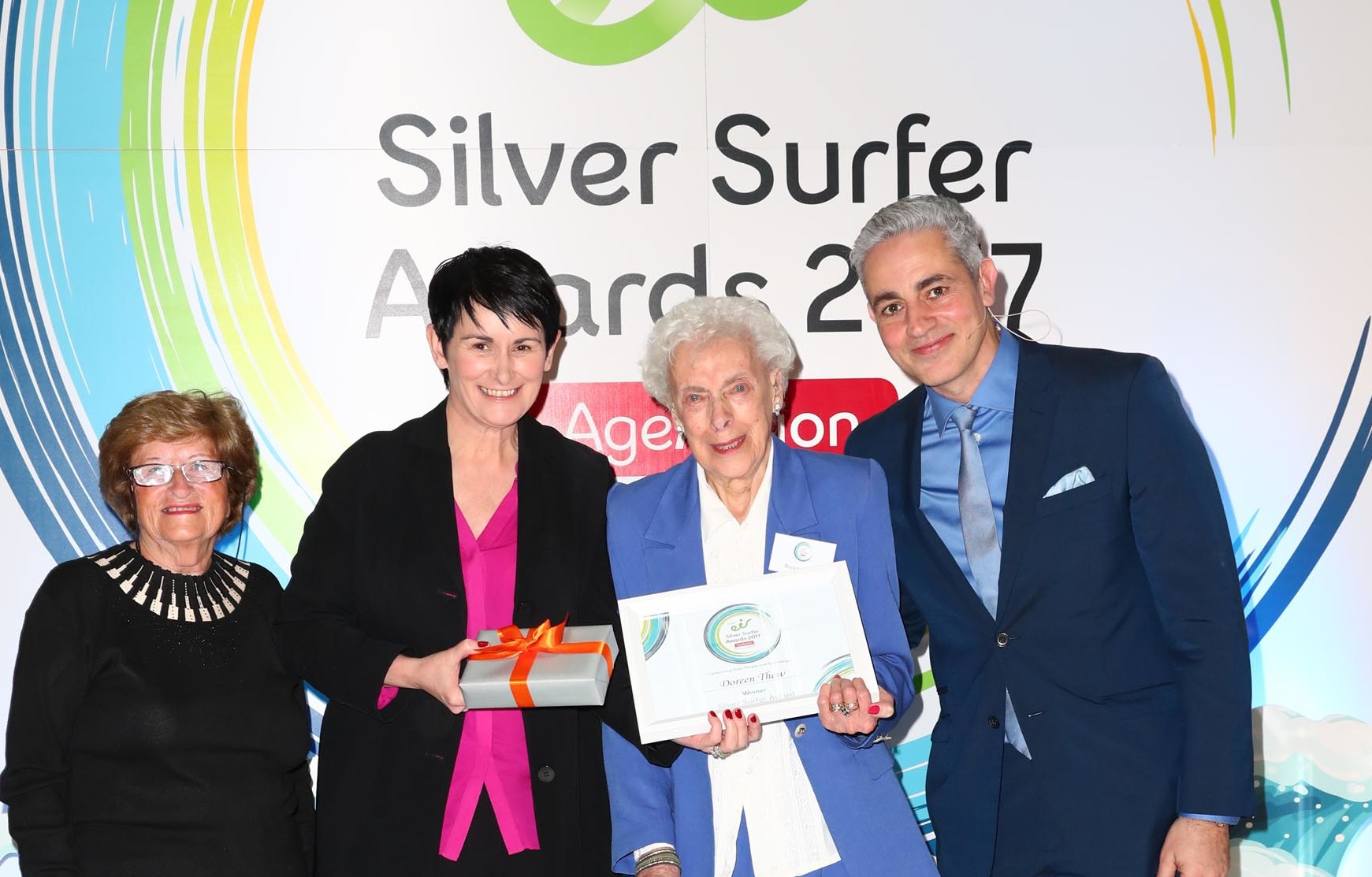 Doreen Thew, winner of the 2017 Silver Surfer Award