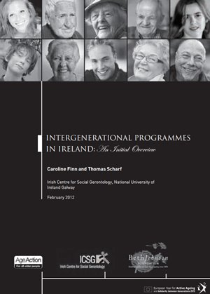 Intergenerational Programmes in Ireland - Mapping Report 2012