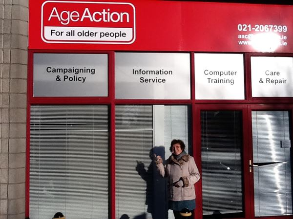 Maureen Cullinane | Age Action | Volunteering for charity in Ireland