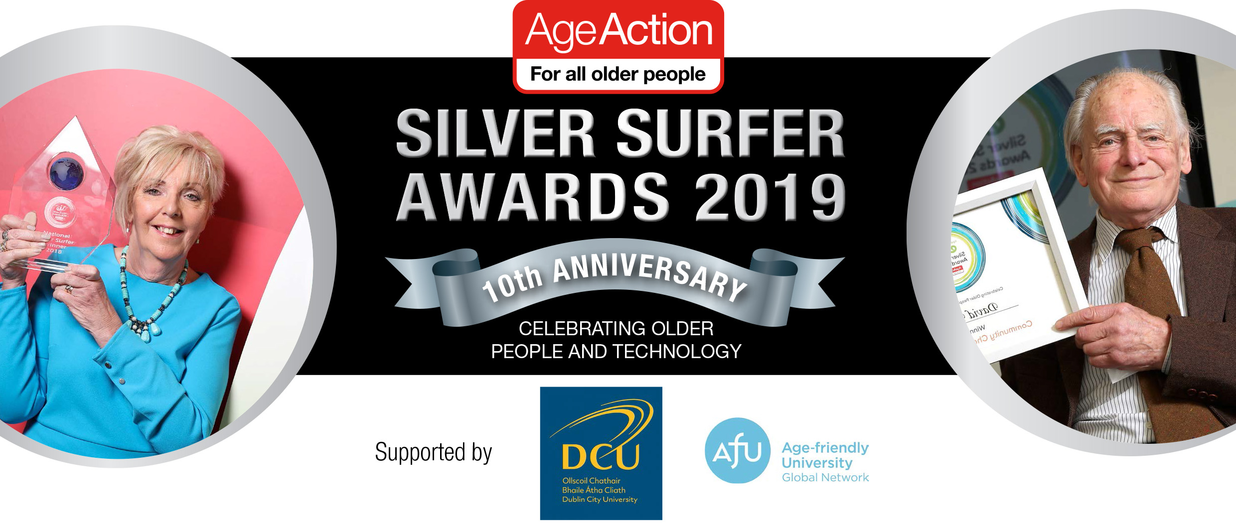 Age Action Silver Surfer Awards 10 year Anniversary