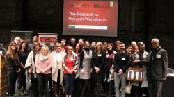 Speakers and organisers at Age Action's elder abuse conference. Credit: Tom Maher