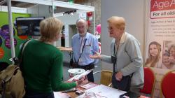 The information team is always ready to assist older people and their families.