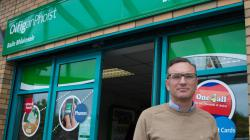 Blanchardstown Postmaster Geoff Doyle