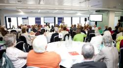 Age Action conference on financial elder abuse in 2014.