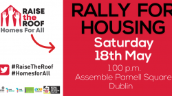 Raise the Roof Rally for Housing 18 May