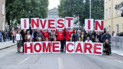 Campaigners unite for home care