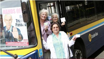 Protect bus pass