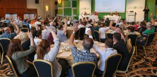 Voting in support of older people at the Citizens' Assembly
