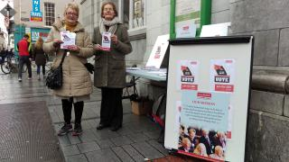 Age Action members campaigning for better long-term care