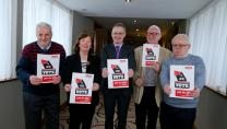Members launching the Age Action election manifesto