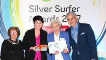 Doreen Thew, winner of the 2017 Silver Surfer Award