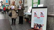 Age Action members campaigning for a fair State Pension