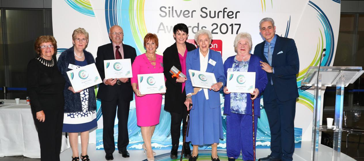 Celebrating our 2017 open eir Silver Surfers