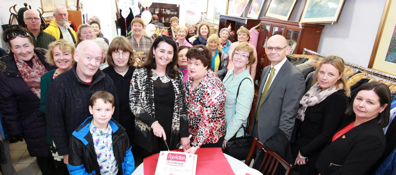 Age Action opens new store in Galway