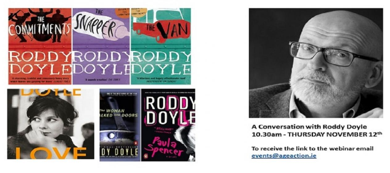 An interview with Roddy Doyle