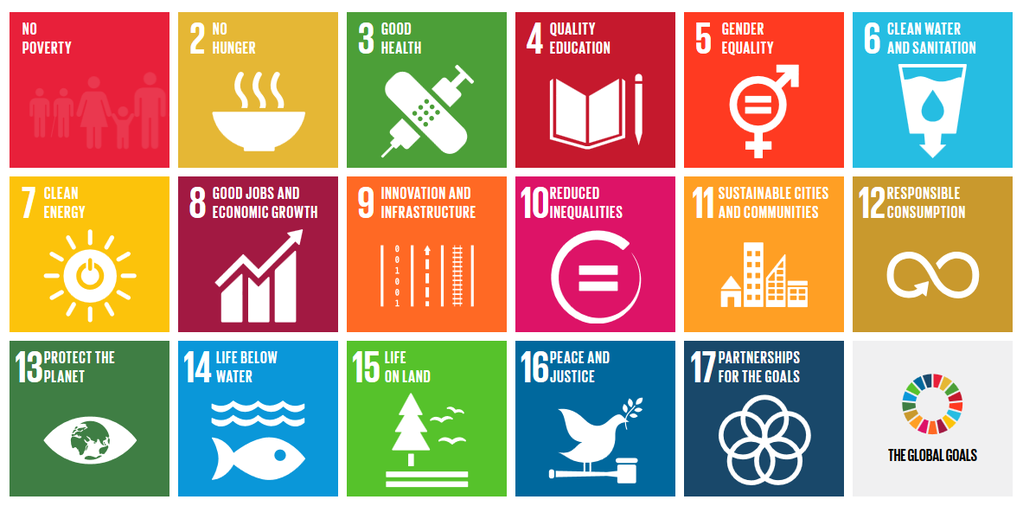 United Nations Sustainable Development Goals for 2030 (image / graphic)